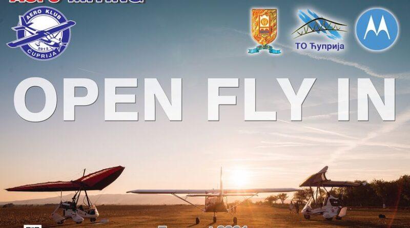 НЕБУ ПОД ОБЛАКЕ – OPEN FLY IN ЋУПРИЈА 2021.